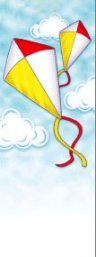 Flying Kites Summer Banner