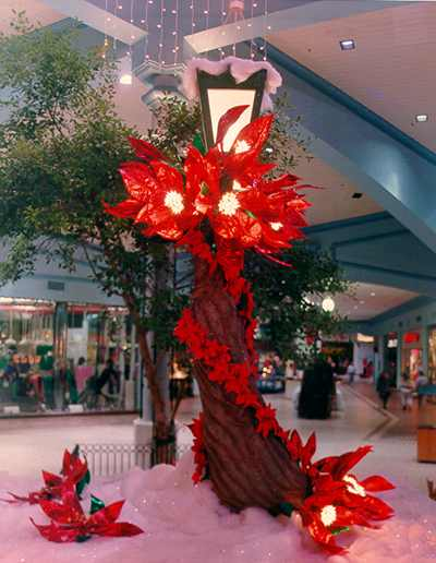 Holiday Mall Decorations