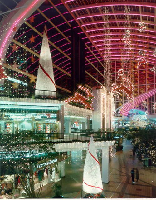 Shopping Mall Holiday Decorations And Other Indoor Holiday