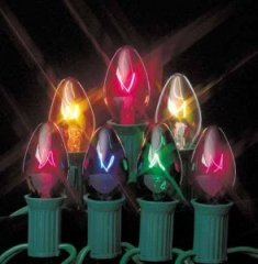 Commercial Quality Giant Multi-Color Christmas Lights