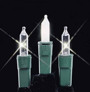 Commercial Quality Miniature White Lights