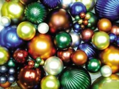 Giant Matte and Gloss Christmas Ornaments