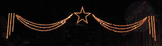 Star with Swags Light Skyline